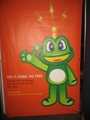 This is Signal the Frog
