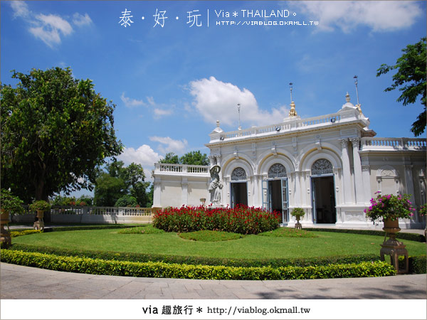 【泰國旅遊】大城之旅|泰皇的渡假聖堂~芭茵夏宮27