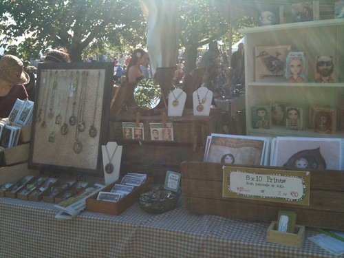 craft market table