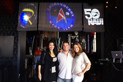 Kelly, Rod, & Heidi (Roddenberry) Tags: sidebar sandiego mixer comiccon 2010 diveteam roddenberry
