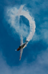 _DSC9279.jpg (mary~lou) Tags: show sky plane fletcher flying nikon loop smoke mary flight d90 gamewinner 15challengeswinner culdroseairday mary~lou