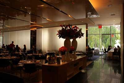 Restaurante The Modern  - Reprodução
