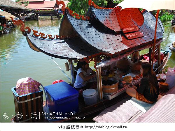 【泰國小吃】泰好吃~大城水上市場美味小吃呷通海!11