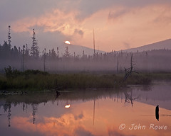 Sunrise at East Inlet (John I Rowe) Tags: summer lake reflection sunrise landscape newengland newhampshire nh pittsburg greatnorthwoods eastinlet