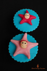 Babies Sea Costume Party 2 (Little Cottage Cupcakes) Tags: sea cupcakes costume babies starfish fondant sugarpaste childrencupcakes littlecottagecupcakes