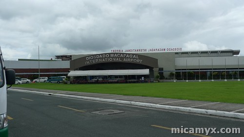 Diosdado Macapagal International Airport in Clark