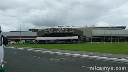 Diosdado Macapagal International Airport in Clark