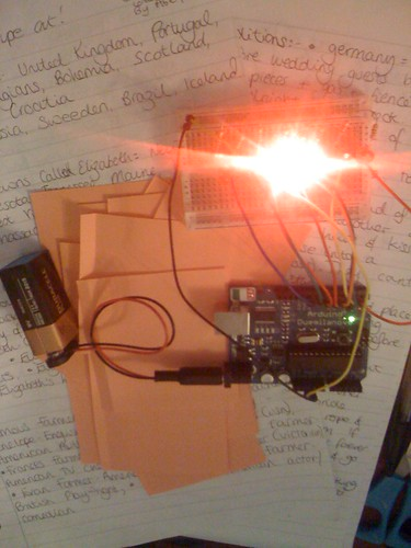 Arduino Cylon Scanner