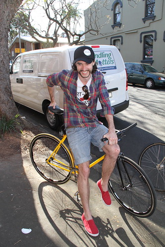 matt from bicycle film festival