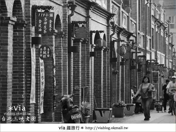 【台北景點】走入台北古味老鎮~三峽老街之旅15