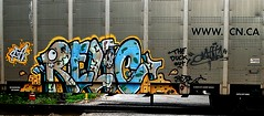 Relic (mightyquinninwky) Tags: railroad graffiti crossing character tag graf tracks railway tags tagged railcar rails characters graff graphiti 2008 freight 08 railroadcrossing inmotion relic canadiannational carcarrier trainart autorack holyroller rollingstock fr8 railart spraypaintart freightcar movingart rfn freightart rfz wwwcnca autoraxx paintedrailcar paintedfreight paintedautorack taggedrailcar autorax taggedautorack taggedfreight theduckout 11223344556677 carfireonflickr charactersformyspacestation relicformyspacestation