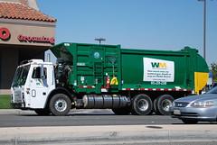 WASTE MANAGEMENT (WM) TRUCK (Navymailman) Tags: santa trash truck garbage wm management waste clarita