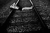 DSC07004 (calmlikeabombbb) Tags: bw white black stripes kristina ribs railroads