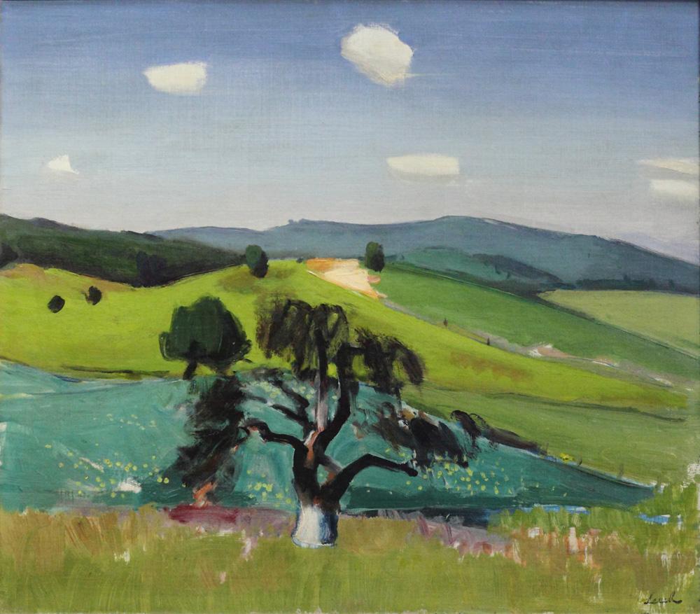 Franz Lerch, Sommerlandschaft [Summer Landscape], ?