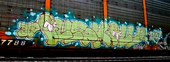 ILLSKILL (mightyquinninwky) Tags: railroad train graffiti character tag graf tracks railway tags tagged railcar rails graff graphiti freight 07 2007 cto carcarrier trainart autorack holyroller rollingstock fr8 railart ctd spraypaintart freightcar movingart freightart rollingart illskill autoraxx paintedrailcar paintedfreight paintedautorack taggedrailcar autorax taggedautorack taggedfreight earlymorningbenching 11223344556677 carfireonflickr charactersformyspacestation