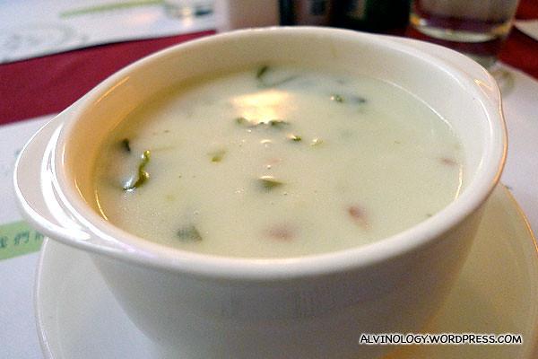 My mushroom soup