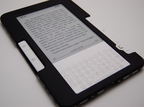 My mom's Kindle 2