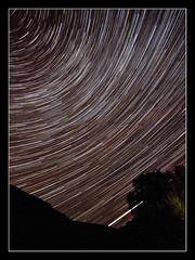 My god, it's full of stars.... (Mr Aardvark) Tags: longexposure sky night stars lakedistrict nightshoot astronomy nightsky keswick ashnessbridge skyatnight stacked startrails 2010 darkskies mraardvark polarswirl perseidmeteorshowertrip