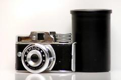 Emson Mini Camera (Chocolate Super Nova) Tags: camera old film nikon nikond70 small tiny filmcamera productshot minicamera emson