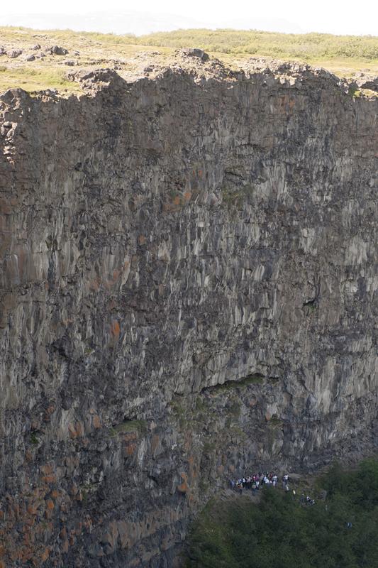 Ásbyrgi cliff