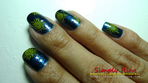 Nail Art Midnight Sun 04