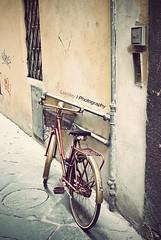 El transporte del futuro.... (Lumley_) Tags: vintage nikon europa italia bicicleta lucca antigua dos bici vicente 1855mm lumley radios futuro 2010 transporte ruedas cesta rubio faros d60 pedales manillar rodar montar pedalear