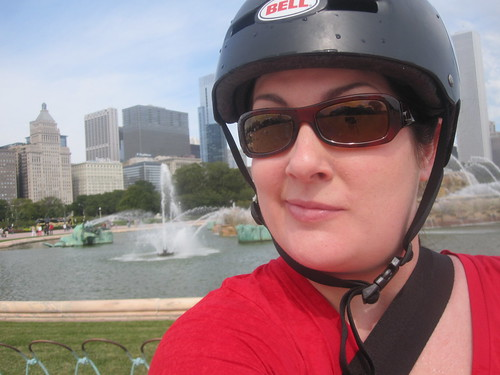 Segway break and fountain