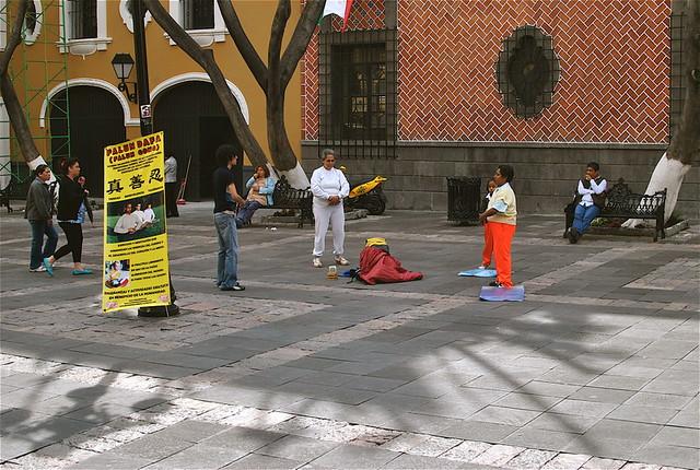 Falun Gong In Puebla!
