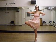 P5090017 (porcelain ballerina 972) Tags: ballet motion art self studio dance video screenshot dancing expression snapshot stretch pineapple capture tutu pointes balletslippers pointeshoes pirouette leaps lyrical dancestudio enpointe