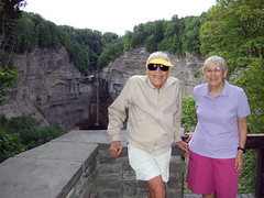 Ma and Da at Taughannock
