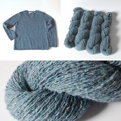 Wool Acrylic Nylon Blend