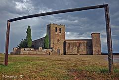 Encongit 154 (Pep Companyó - Barraló) Tags: barcelona santa de maria catalunya futbol romanic monestir bergueda josep porteria serrateix companyo barralo