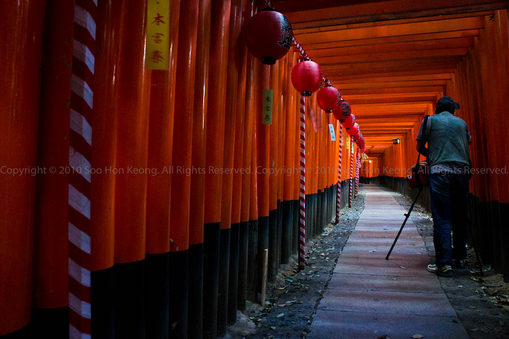 Click @ Fushimi Inari Shrine, Kyoto, Japan