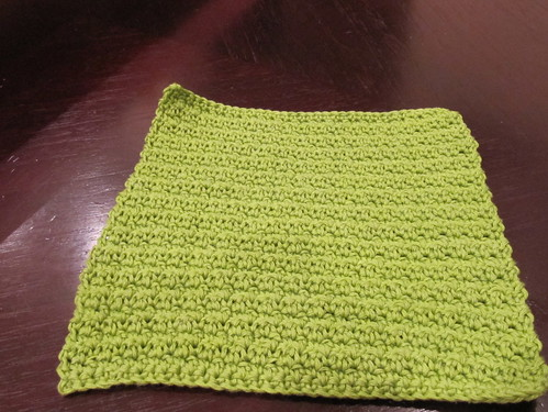 Green Dishcloth