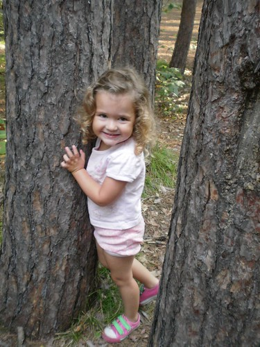 Our little tree hugger