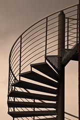 Spiral staircase (fotomanni.de) Tags: hamburg escaleras spiralstaircase fineartphotos