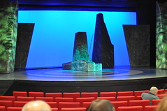 "At Siamsa Tire, before the play ""Clann Lir"" (Marcus Meissner) Tags: theater marcus stage tire august irland september tralee reise 2010 lir siamsa studiosus clann meissner"