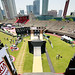 May 30, 2010 - Shanghai, China - Jiangwan Stadium, View From the Mini Mega Ramp