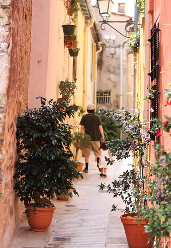 Old Town in Menton -9