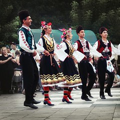 Bulgarian National Dress (Tanjica Perovic Photography) Tags: music festival photography dance fotograf photographer dancing traditional serbia folklore colourful balkans easterneurope ensamble  pirot srpski fotografija   bulgariannationalcostume internationalfolklorefestival2009pirotserbia  tanjicaperovicphotography medjunarodnifestivalfolklorapirotsrbija internationalfolklorefestivalpirotserbia folkloredanceensamble