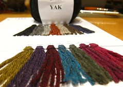 The yak I love (sifis) Tags: winter yak colour wool fashion canon sweater natural knit lo athens yarn greece jacket needles fiber cardigan s90 handknitting knittng  sakalak woolshop