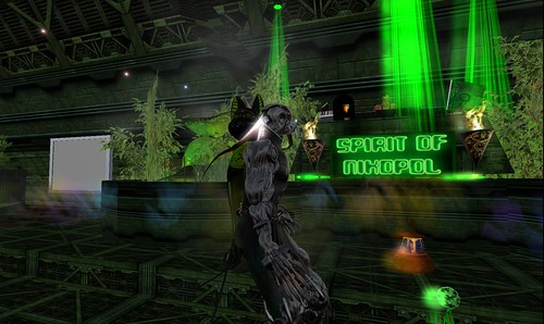 nikopol's club party in second life