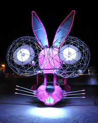Burning Man 2010 - Metropolis: Psychic Bunny Mut V (extramatic) Tags: man art fire desert playa burningman blackrockcity event flame burn brc metropolis dmv artcar zzz 2010 blackrockdesert mutantvehicle burningmanfestival 6477 bm10 extramatic departmentofmutantvehicles burningman2010