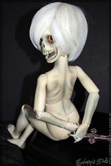 Morty - Fresh from the Grave (Sadomina) Tags: skull doll creepy bjd dollfie superdollfie abjd msd morty dskull dikadoll jungatoy jungatoyskull jungatoydskull