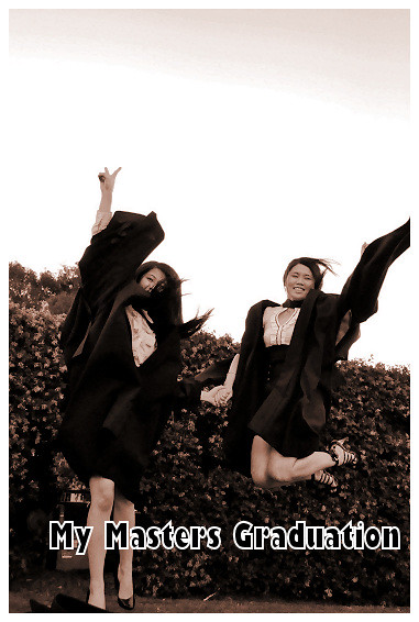My Masters Graduation 2010: My Jump Shot with Bev 2