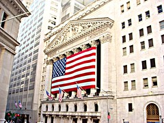 The New York Stock Exchange as seen from Wall Street (martian cat) Tags: allrightsreserved allrightsreserved martiancatinjapan allrightsreserved thesuperbmasterpiece martiancatinjapan martiancatinjapan