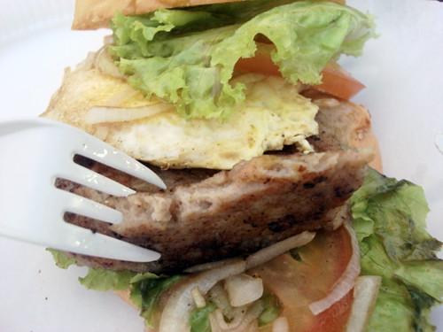 Pork burger SS2 wai sik kai