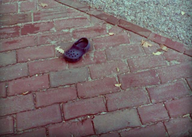 a long shoe