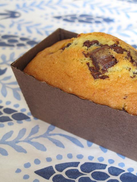 Mini cake con gocce di cioccolato 1