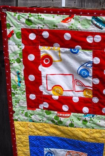 Sunday Drive Quilt Close-up